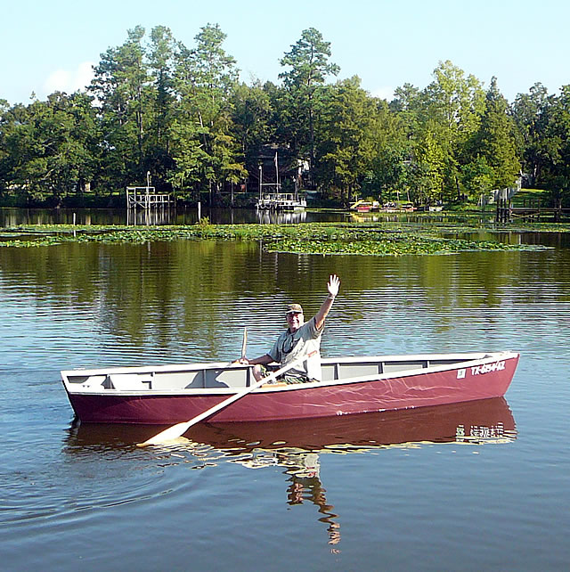 how to build a fishing boat out of wood